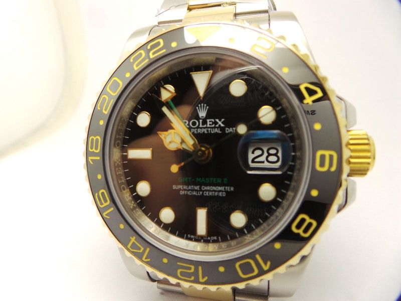 Rolex GMT Master II Two Tone Replica