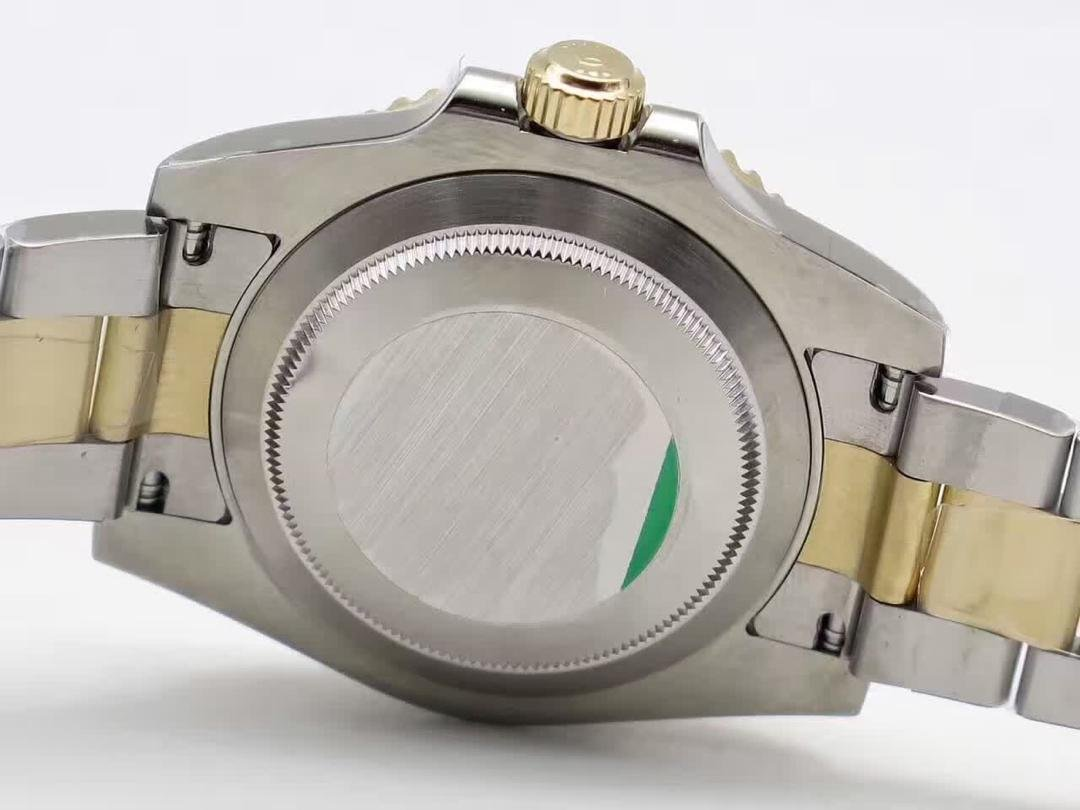 Rolex Solid Steel Case Back