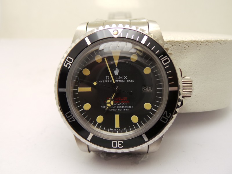 Rolex Vintage Double Red Sea-Dweller Replica
