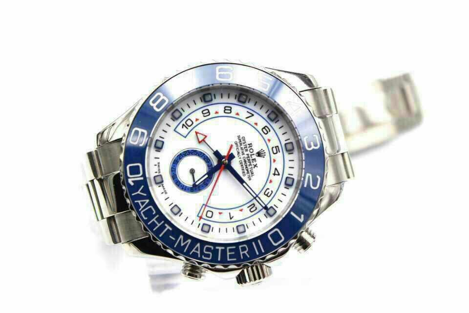 Rolex Yacht Master II White Dial