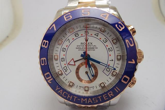 Photo Review of Replica Rolex YachtMaster II 116680