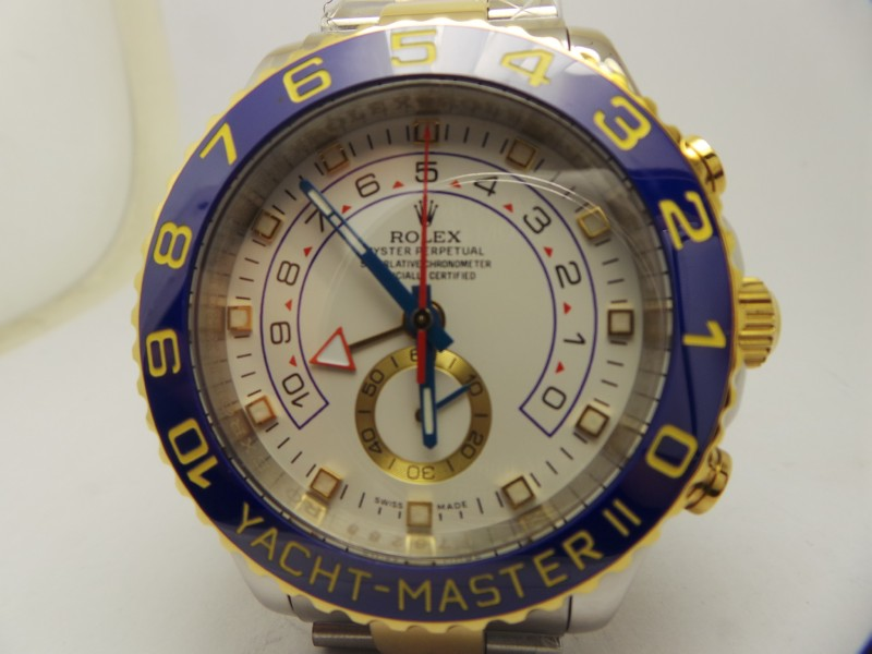 Stainless Steel Yellow Gold YachtMaster II