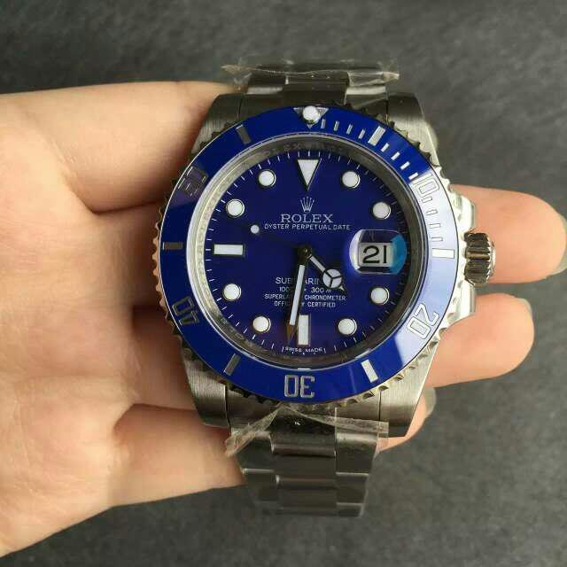 Submariner Blue Dial
