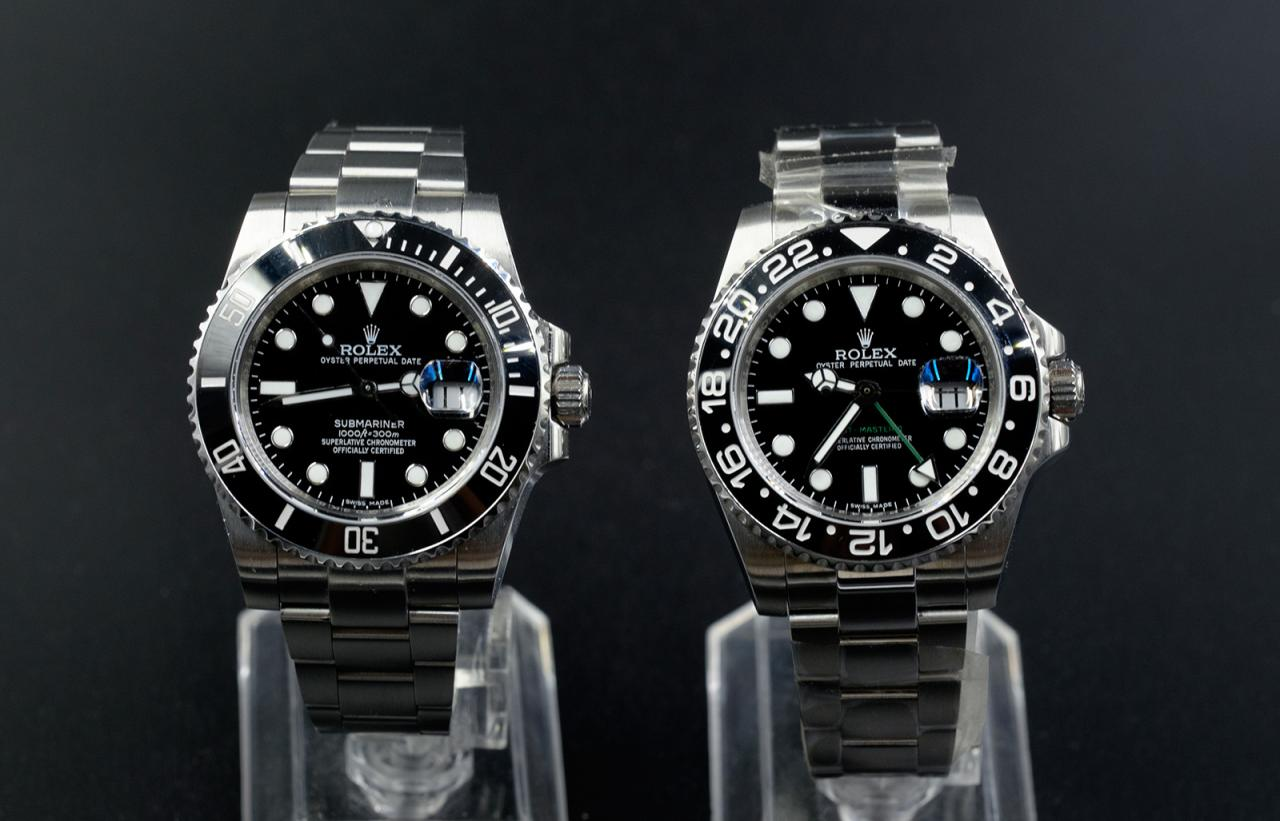 Submariner and GMT Master II
