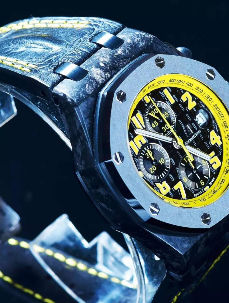 Tachymeter in Yellow