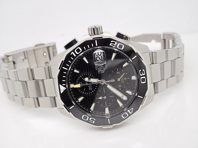 Tag Heuer AquaRacer 2016 Calibre 16 Black Dial