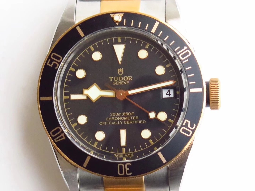 Tudor Black Bay Two Tone Black Dial