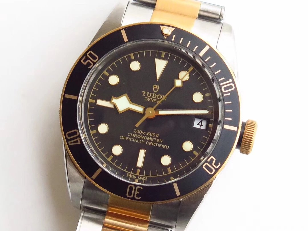 Tudor Black Bay Two Tone Ceramic Bezel