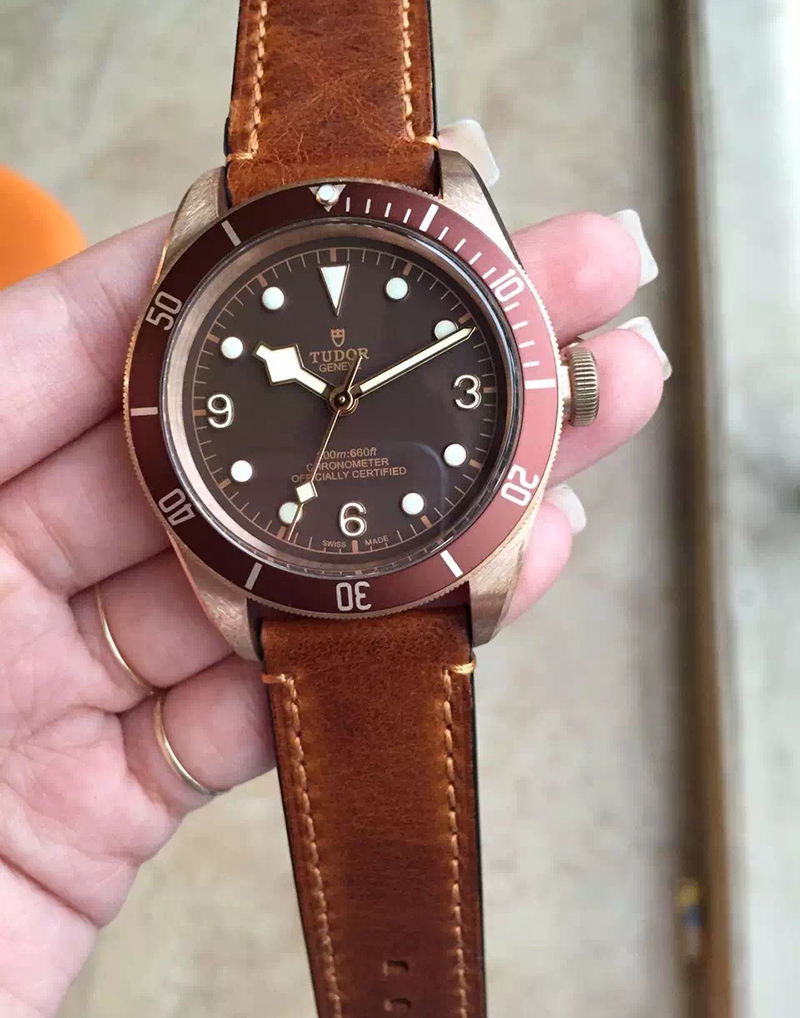 Tudor Heritage Black Bay Bronze Replica