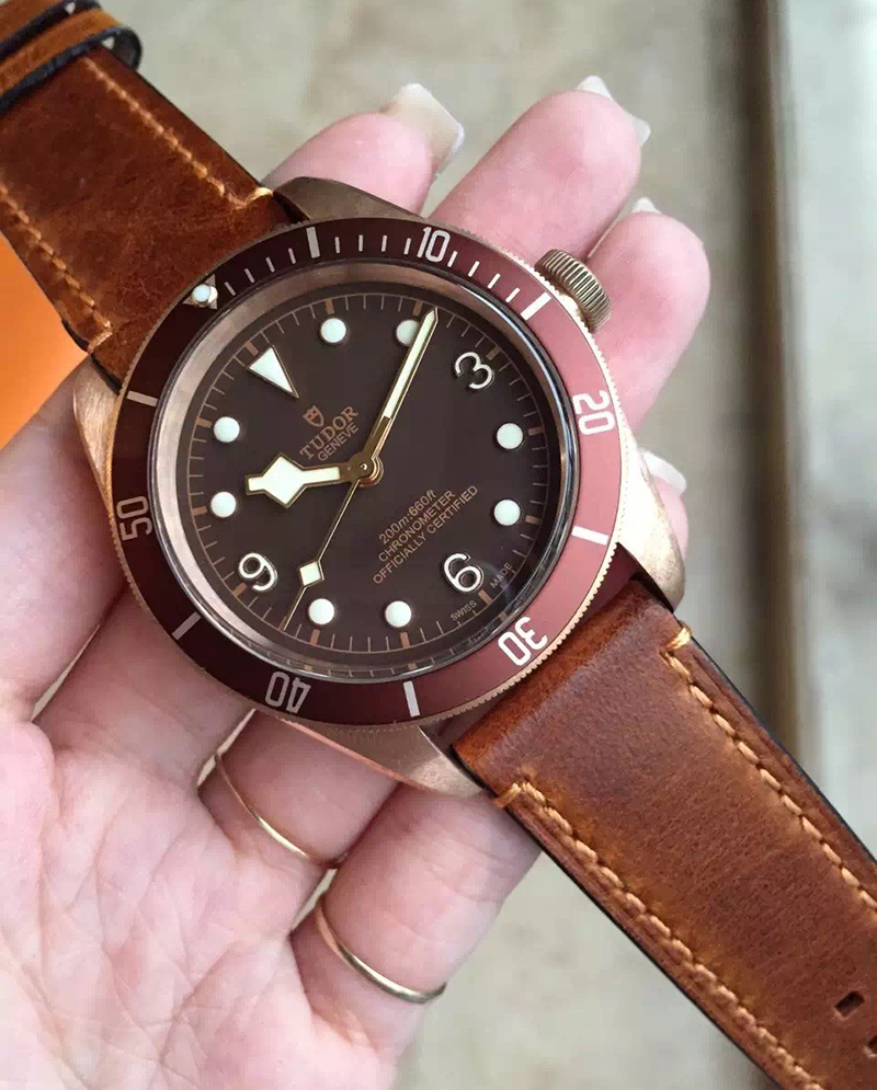 Tudor Heritage Black Bay Bronze Watch
