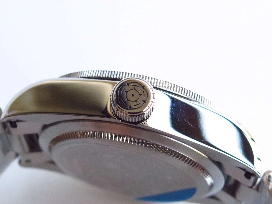 Tudor Watch Rose Logo on Crown