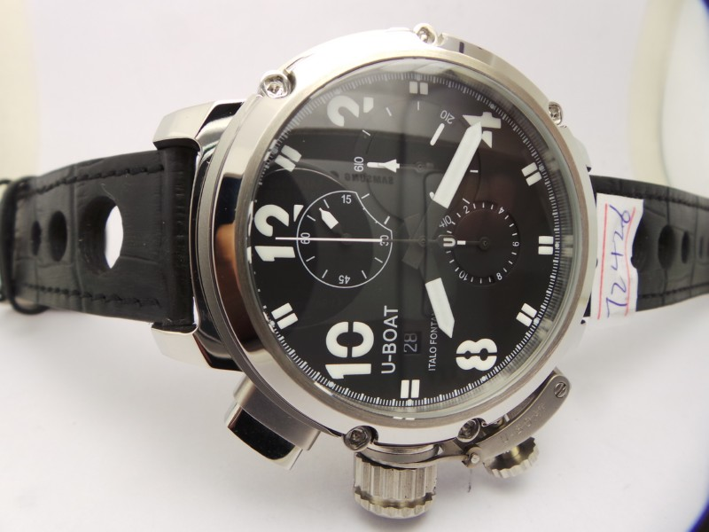 U-Boat Chimera Sideview Black Dial