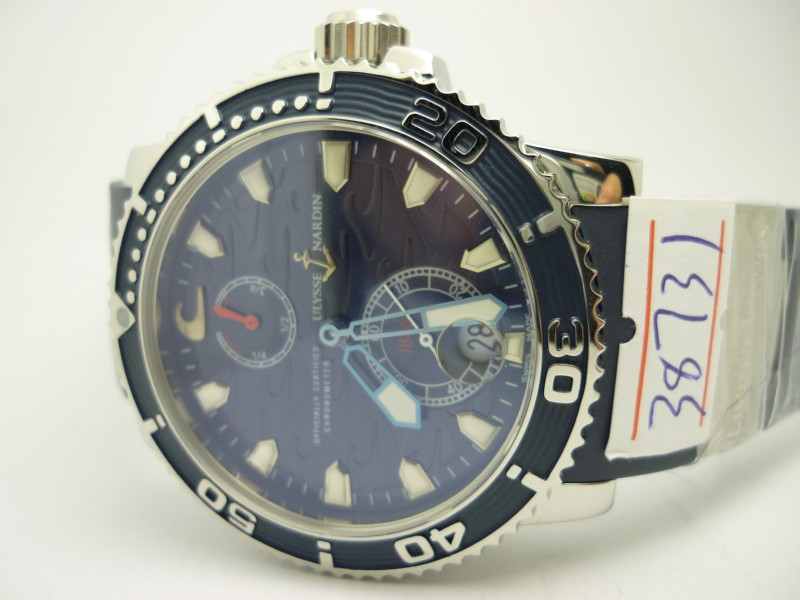 Ulysse Nardin Blue Steel Hands