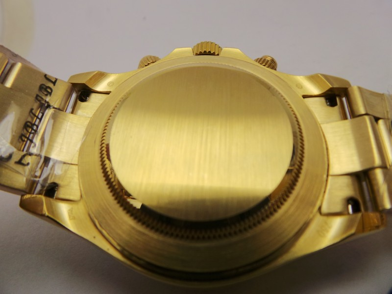 Yellow Gold Caseback