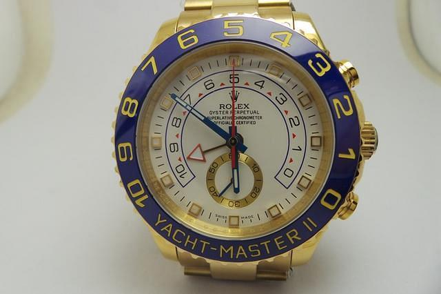 Yellow Gold YachtMaster II