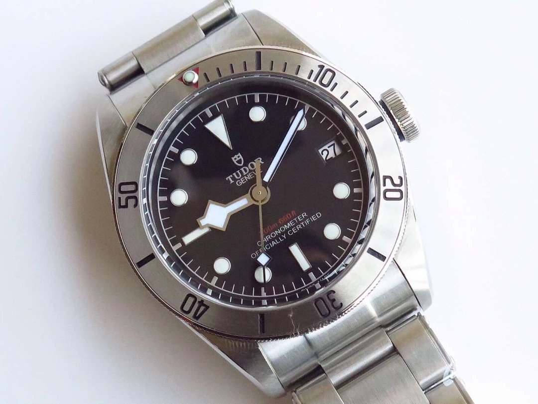 ZF Tudor Black Bay Steel Watch