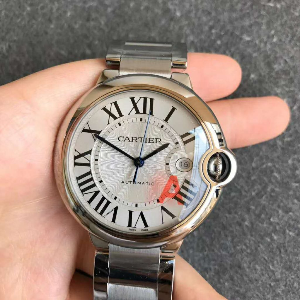 The V7 Edition of 42mm Cartier Ballon Bleu Just Published by V6 Factory Review