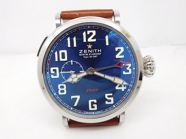 Replica Zenith Pilot Montre d'Aeronef Type 20 GMT Watch For Sale
