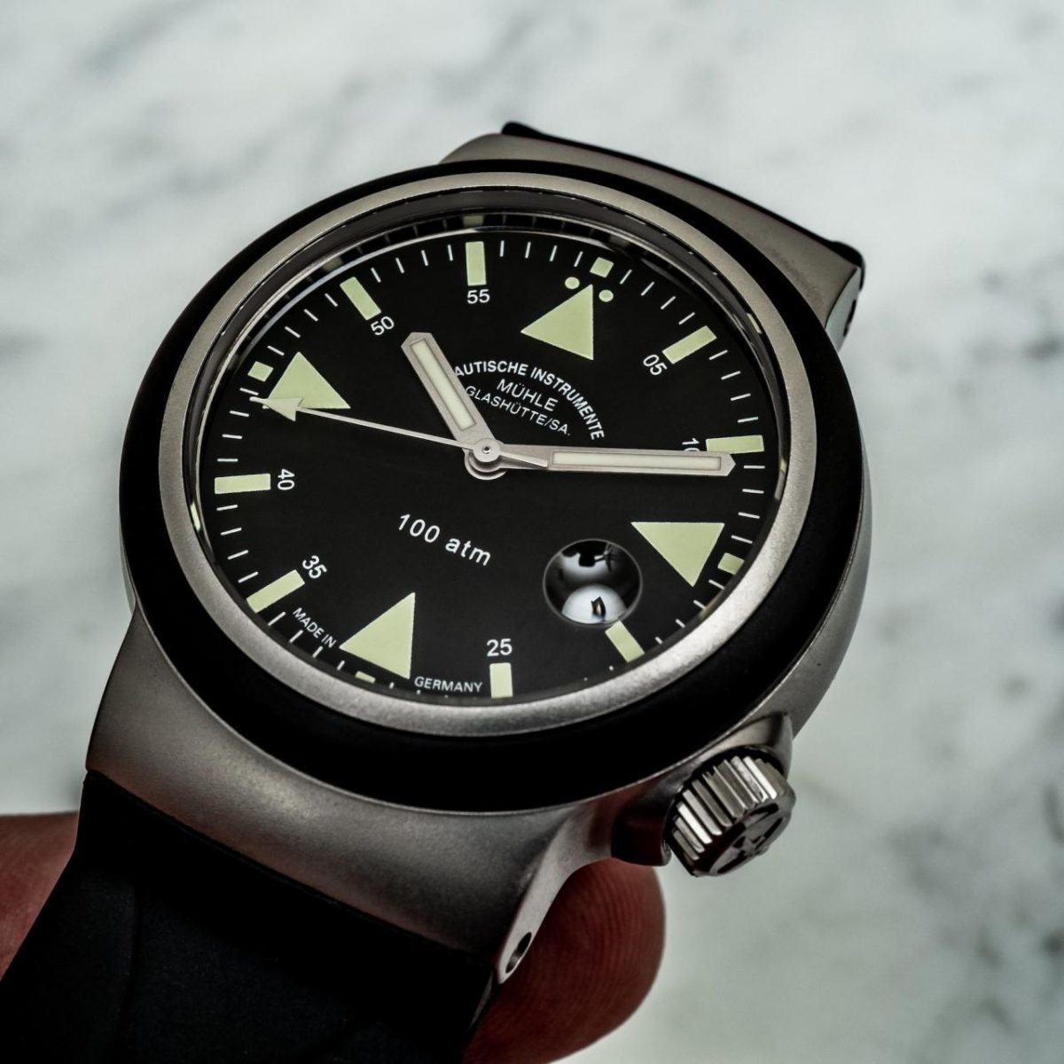 Mühle Glashütte S.A.R. Rescue Timer Replica Watches